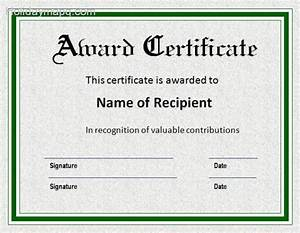 certificate template word holidaymapqcom With free online certificate templates for word