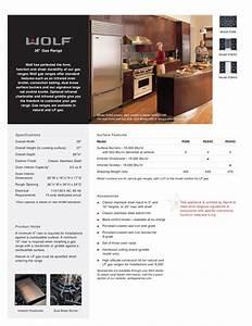 Download Free Pdf For Wolf R366 Range Manual