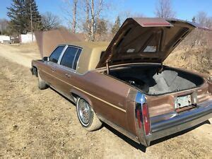 1991 Cadillac Brougham Parts by Cadillac Brougham Buy Or Sell New Used And Salvaged