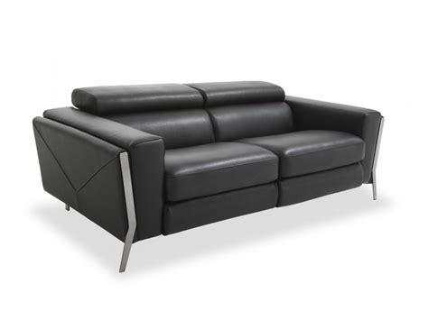 canapé cuir 3 places convertible canape noir convertible maison design wiblia com