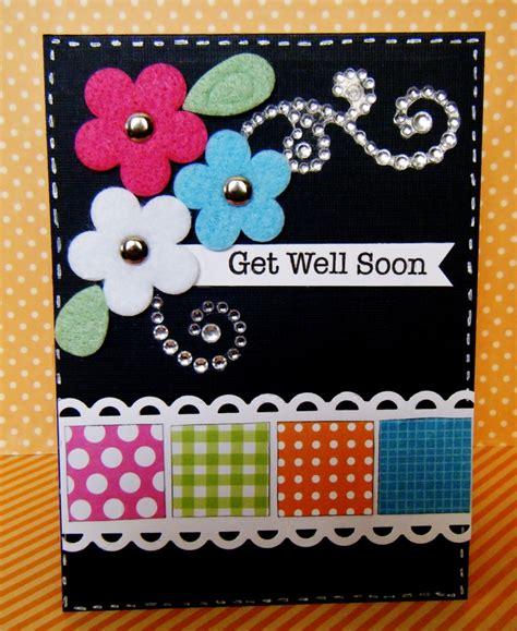 Scrapbook Get Well Soon Card