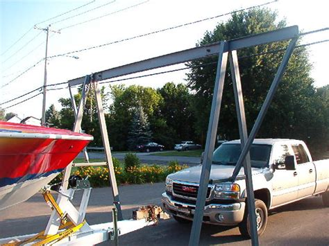 How To Build A Boat Engine Hoist by Need An A Frame Engine Hoist Offshoreonly