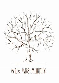 Best 25 ideas about fingerprint tree find what youll love free wedding fingerprint tree template printable pronofoot35fo Gallery
