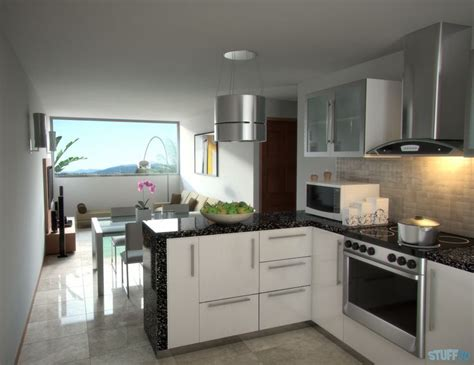 interior design kitchen room interior design kitchen living room render mental