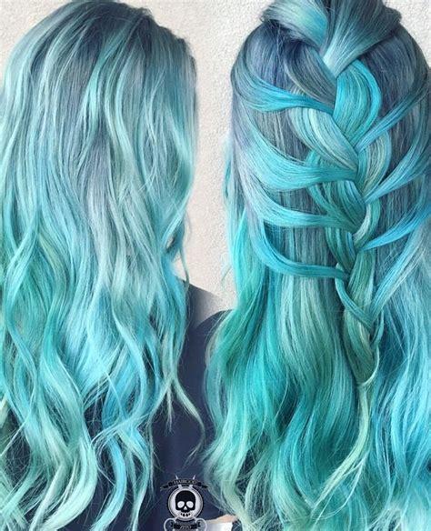 481 Best Mermaid Hair Images On Pinterest Hair Color