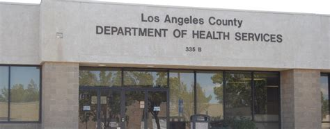 Service Los Angeles by Los Angeles County Health Department Antelope