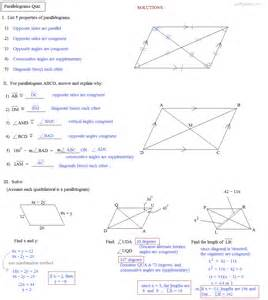geometry translation worksheets math plane special quadrilaterals 1 introduction