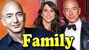 Jeff Bezos Family With Children and Wife MacKenzie Bezos ...