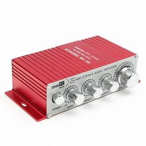 Digital Stereo Amplifier