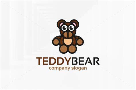 Teddy Bear Logo Template