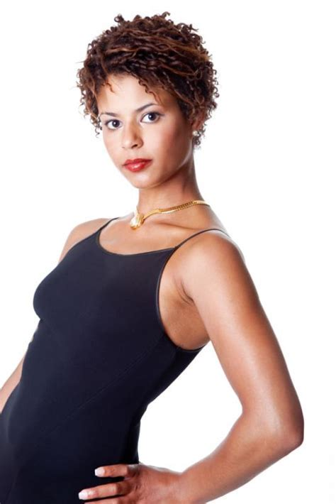 Short Black Hair Style Pictures