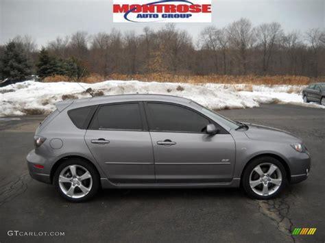 2006 Titanium Gray Metallic Mazda Mazda3 S Touring