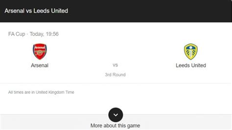 FA Cup: Arsenal vs Leeds United Preview & Live Stream Info ...