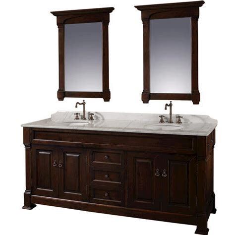wyndham collection andover dark cherry bathroom vanity