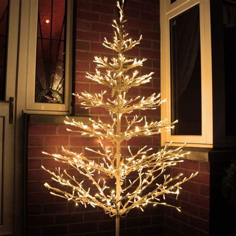 beautiful led tree ft outdoor branch tree   warm