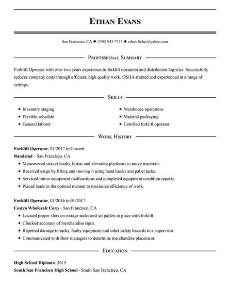 Check Out Our Free Simple Resume Examples & Guide For 2020