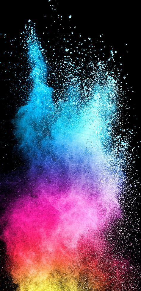 colorful galaxy wallpaper abstract colorful powder with background for samsung
