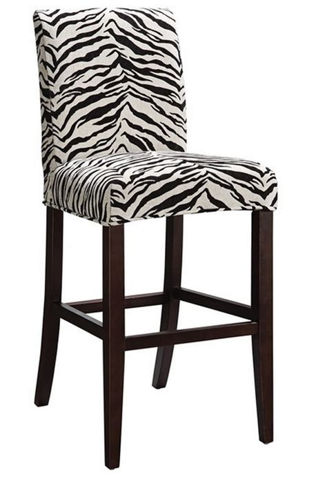 Zebra Bar Stools Decorate Your Home In Modern Family Style And Gloria
