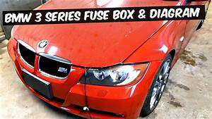 Bmw E90 E92 E93 Fuse Box Location And Fuse Diagram 318i 320i 323i 325i 328i 330i 335i 320d 330d