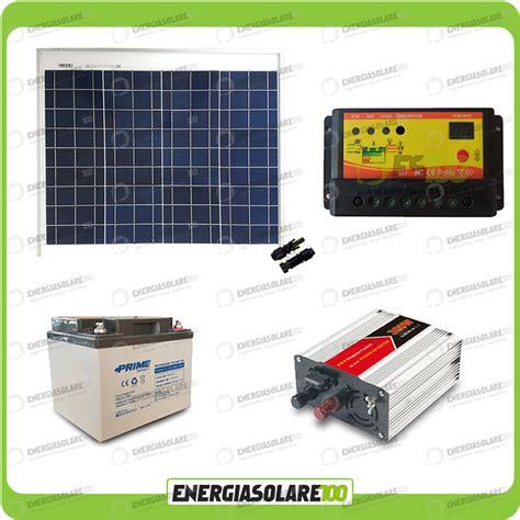 kit solaire pour chalet kit panneau solaire 50w convertisseur dc ac 12v 220v 300w batterie 38ah ebay