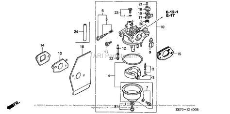 Honda Carb Diagram Cleaning by Honda Engines Gxv160 N12 Engine Jpn Vin Gj03 1000001 To