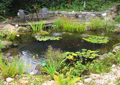Teichebiotopegartenanlage Gartengestaltunggartenbau