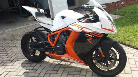 2013 Ktm 1190 Rc8 R Motorcycles For Sale