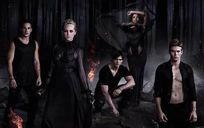 Vampire Diaries 4k Wallpapers Damon Elena Tv