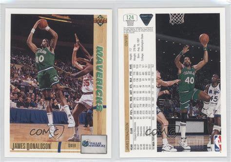 1991 The Deck Company by 1991 92 Deck 124 Donaldson Dallas Mavericks