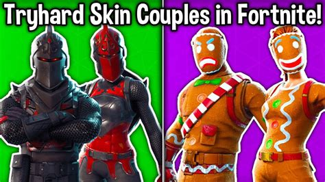 tryhard skin couples  fortnite youtube