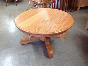 round pedestal coffee table norman39s handcrafted With round wood pedestal coffee table