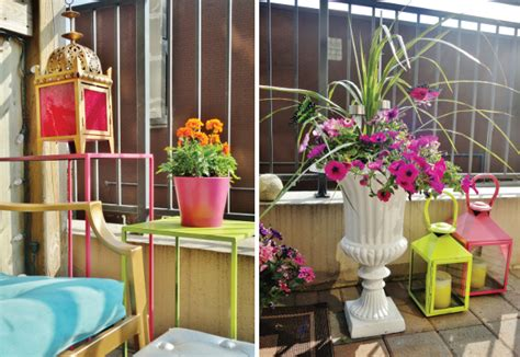 makeover colourful urban balcony home trends magazine