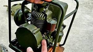 Vintage Ww2 Portable Generator Ssp-12 Power Unit