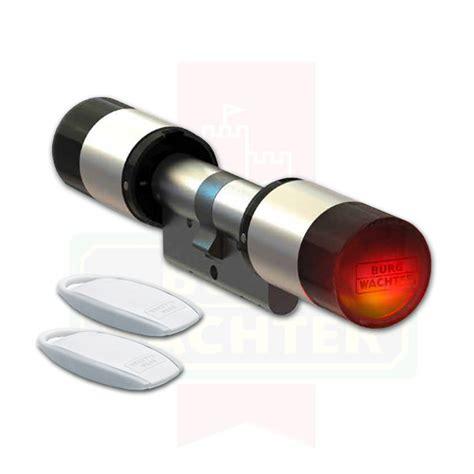 elektronischer schließzylinder mit transponder secuentry 5700 basic set burg w 228 chter mit transponder