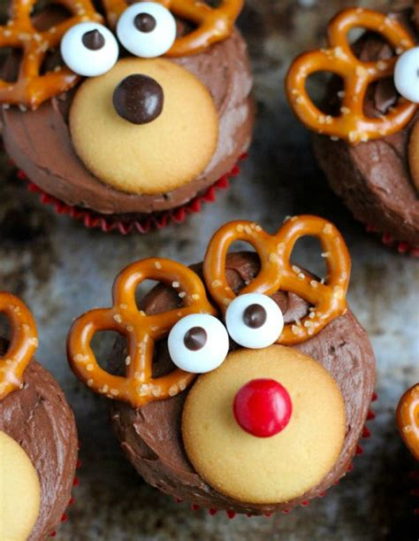 adorable christmas cupcake recipe ideas