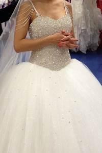 robe de mariee strass et paillettes d39occasion moselle With robes avec paillettes et strass