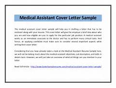 Medical Assistant Cover Letter Sample The Medical Assistant Cover Cover Letter Cover Letter Medical Laboratory Technician Cover Letter Cover Letter Examples For Laboratory Technician Cover Letter Lab Technician Cover Letter Sample Medical Lab Tech Cover Letter