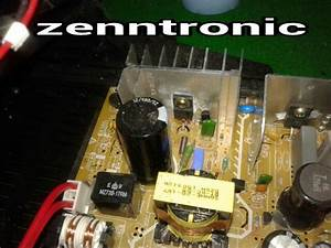 Zenntronic  Problem Power Suply Tv Polytron Slim