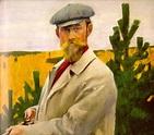 Artist Kustodiev Boris Mikhailovich