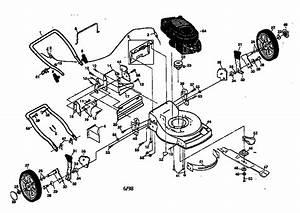 Craftsman Rotary Mower Parts