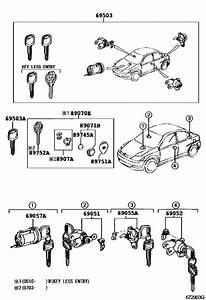 Lock Cylinder Set For 2002
