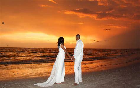 treasure island beach weddings sunset beach weddings