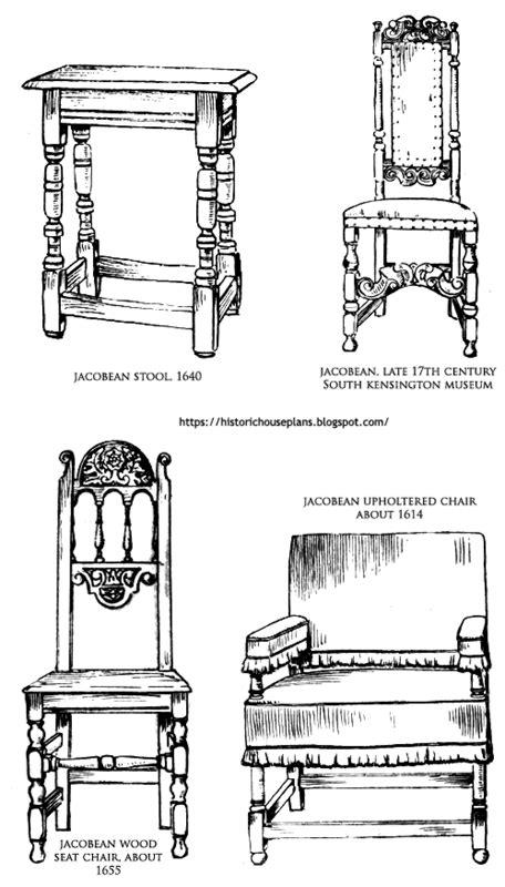 jacobean furniture designs historic house plans