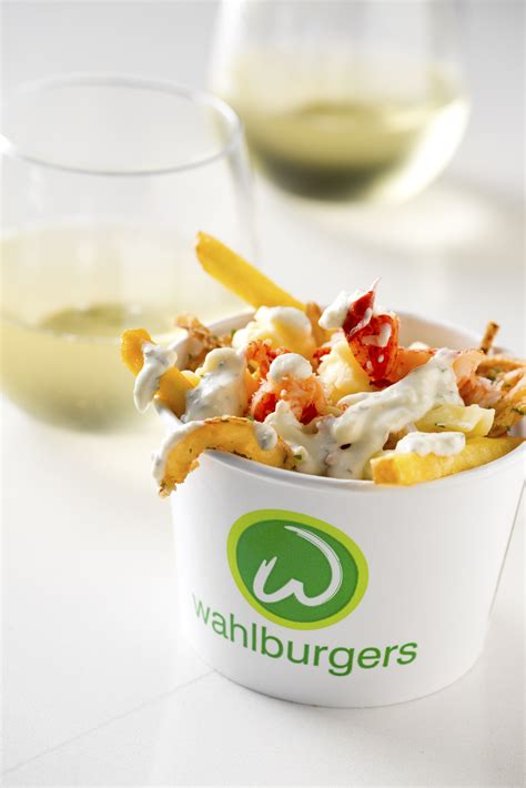 wahlburgers menu tiff poutine specials paul source wahlburger lobster happy nfl watching event