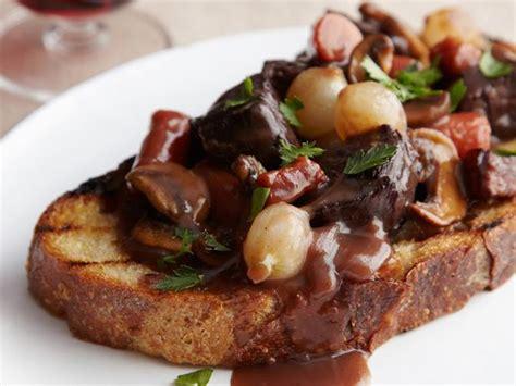 beef burgundy beef bourguignon recipe ina garten food network
