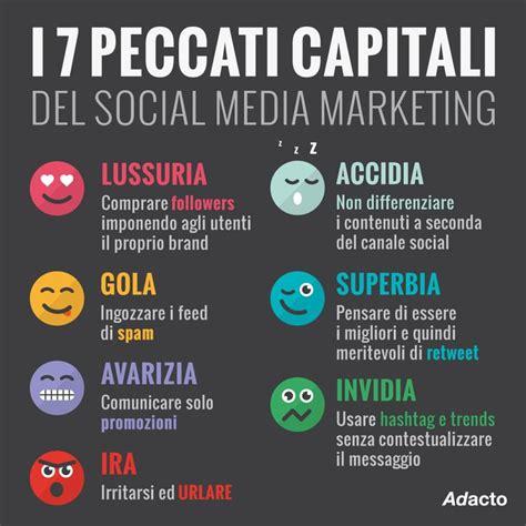 conoscete   peccati capitali del social media marketing