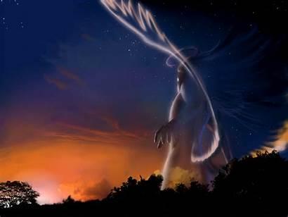 Angel Wallpapers Angels Fantasy Archangel Demon Forest