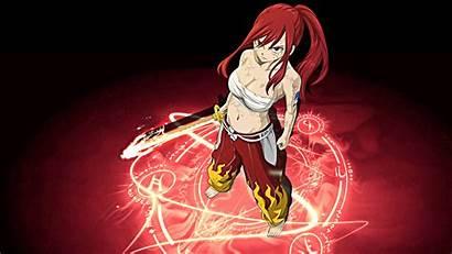 Erza Scarlet Anime Fairy Tail Armor Wallpapersafari
