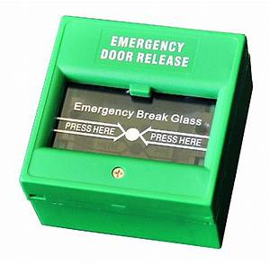 Break Glass Emergency Button Of Access Control