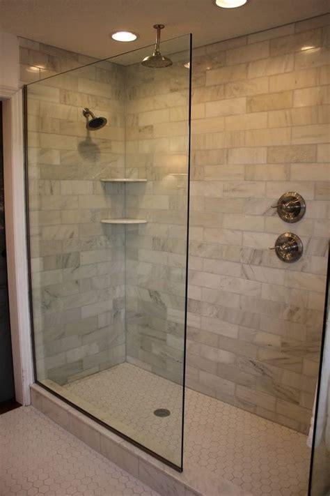 design   doorless walk  shower bathrooms
